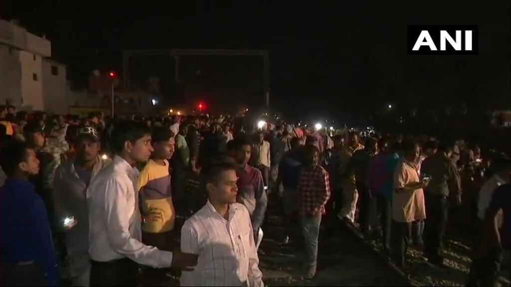 Amritsar jaura phatak Train Accident